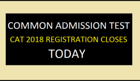 CAT 2018 application process to close today at 5:00PM, apply now
