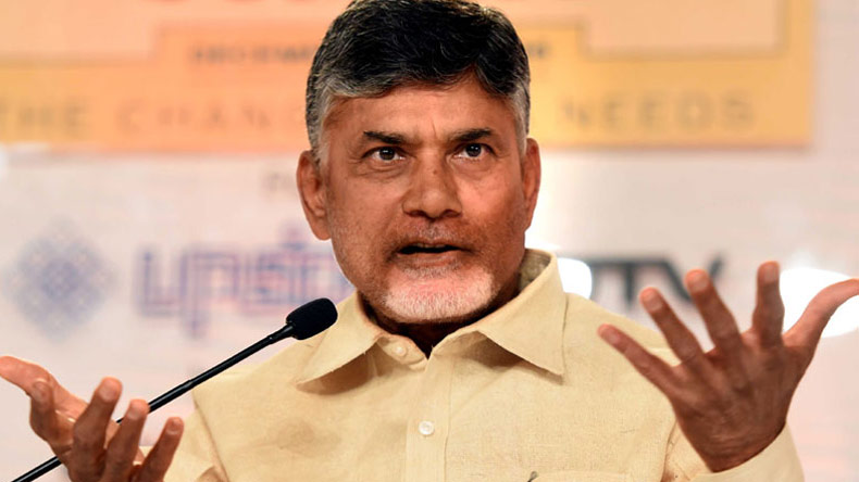 Chandrababu Naidu slams Modi government, says petrol price would soon touch Rs 100