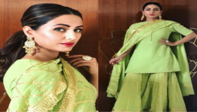 Hina Khan looks like an angel in her traditional outfit, see photo