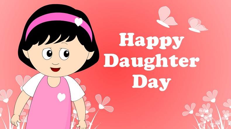 Happy Daughters Day 2018 Wishes And Messages In English WhatsApp Status GIF Images Wallpapers Quotes Greetings SMS Facebook Posts To Wish Your