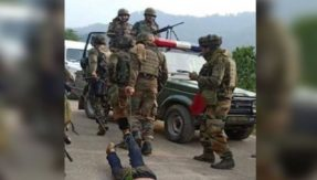 Indian Army soldiers drag slain militant by chains in Kashmir's Reasi district, leads to social media uproar