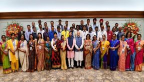 Teachers' Day 2018: PM Modi interacts with awardees of National Teachers' awards on the eve of Teachers Day