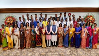 PM Modi interacts with awardees of National Teachers' Awards on the eve of Teachers Day | Photo: Narendra Modi Twitter
