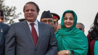 Sharif's wife was diagnosed with lymphoma (throat) cancer in August 2017