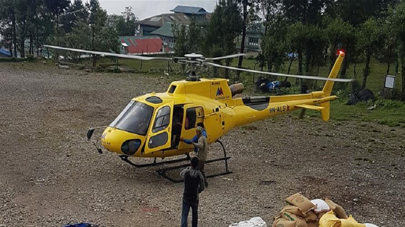 6 killed, 1 injured as helicopter crashes in Nepal