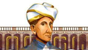 Google dedicates doodle to Sir Mokshagundam Visvesvaraya's on his 158th birthday
