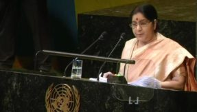 External Affairs Minister Sushma Swaraj UN General Assembly address LIVE updates: Developed countries who destroyed nature shouldn't back from their responsibilities, says EAM