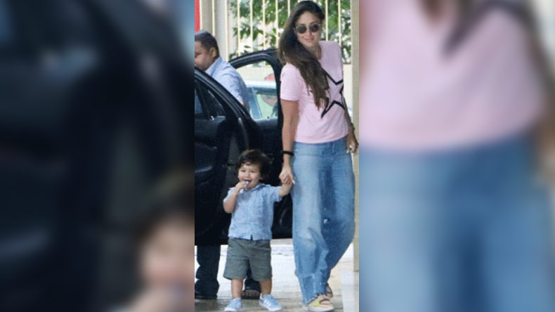 Taimur Ali Khan's cute smile in this photo will take away your Monday blues!