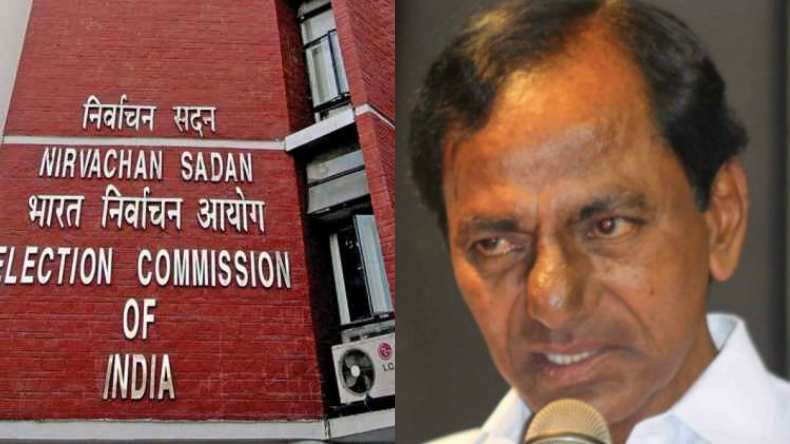 Telangana,Election Commission,Telangana polls,K Chandrasekhar Rao,Telangana Assembly,EC,India news