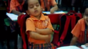 Girl,little girl,girl dozing off,girl dozing off in classroom,girl sleeping in classroom,classmates,class lecturer,national news,latest news