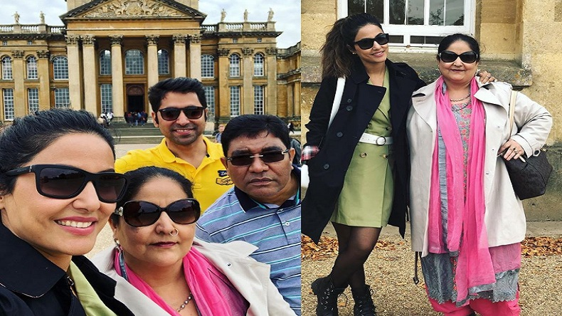 Hina Khan Marks The End Of Her London Trip In Style See Photos Newsx
