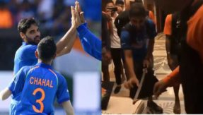 Team India's celebration with swords after Pakistan win, watch video