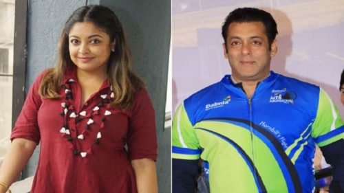 Salman Khan reacts to Tanushree Dutta's controversy