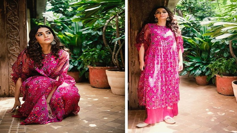 Sonam Kapoor looks beautiful in boho chic outfit