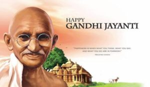 Happy Gandhi Jayanti 2018 Wishes And Messages In English Whatsapp