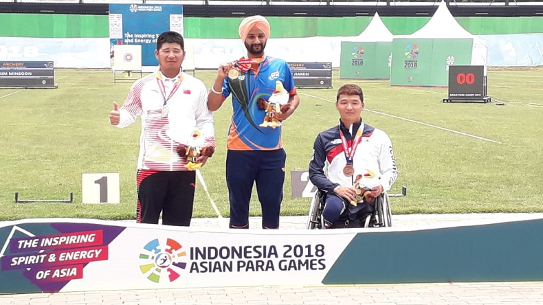 Indian athletes shine at Asian Para Games 2018 with best ever medal tally