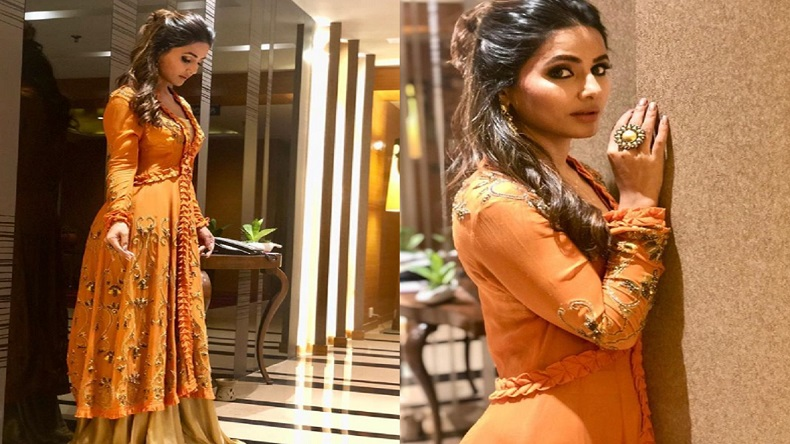 Hina Khan Photo Television Beauty Looks Stunning In Her Latest
