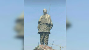 World's tallest statue of Sardar Patel is all set to be unveiled on October 31, see photo