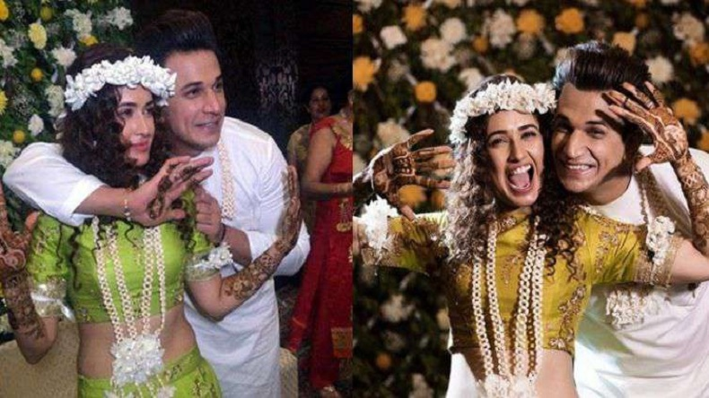 Prince Narula and Yuvika Chaudhary's mehendi ceremony photos are a thing to watch on Internet today!