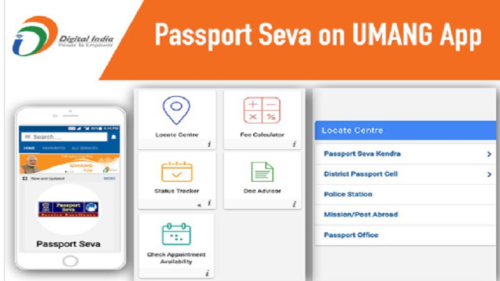 Now citizens can avail passport related services through UMANG app
