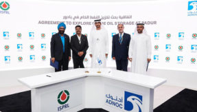 ISPRL signs MoU with Abu Dhabi National Oil Company to explore storage of crude oil at Padur underground facility in Karnataka