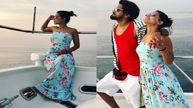 Hina Khan Is Missing Her Maldives Vacay Majorly See Photos Newsx