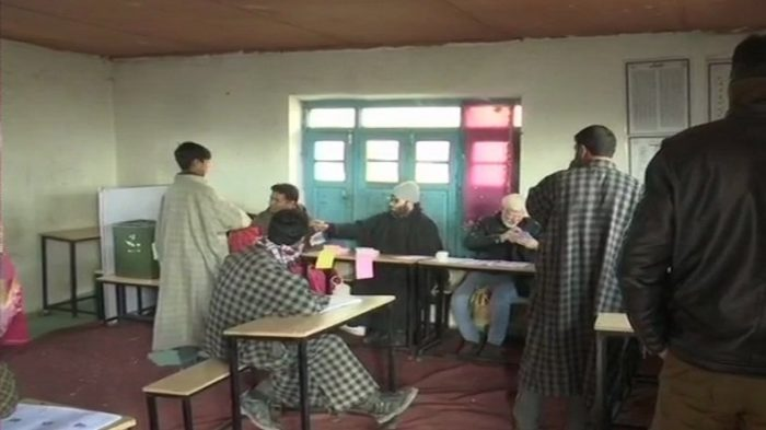 Jammu and Kashmir panchayat polls LIVE updates: Voting underway in 15 districts amid tight security