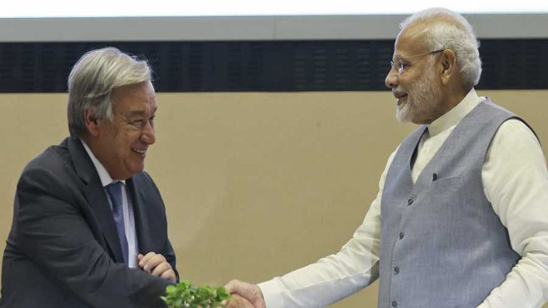 G20 Summit 2018: PM Narendra Modi meets UN Secretary, discusses India's role in addressing issue of climate change