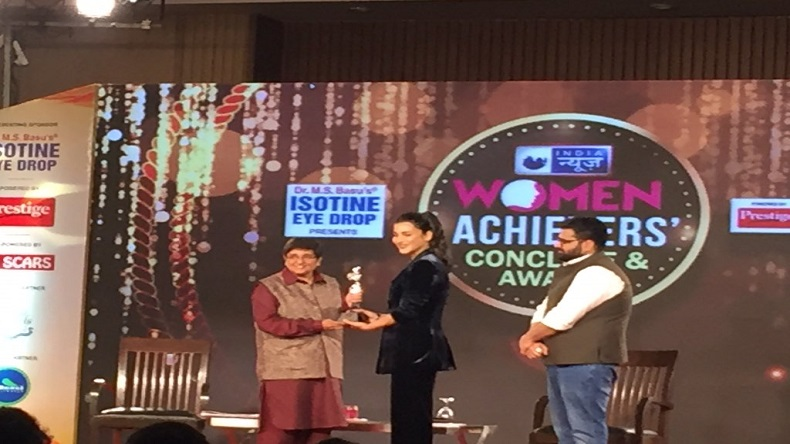 India News, Women Achievers Conclave, Women Conclave, Kiran Bedi, Shruti Haasan, Salma Agha, Sasha Agha, Women empowerment, women equality, women rights, women in politics, Congress, BJP, Women Issues, Triple Talaq, Modi, entertainment news, national news, latest news