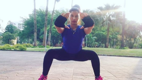 Poonam Dubey's sexy workout video is winning the Internet!