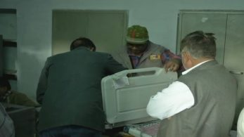 EVM was replaced following technical malfunction in Bikaner's Kisamidesar.