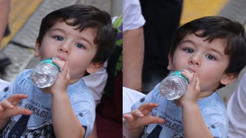 Taimur Ali Khan's video from pre-birthday party goes viral!