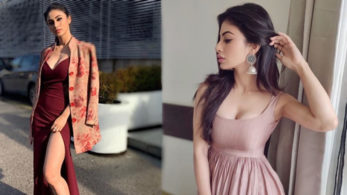 Mouni Roy looks uber-hot in a stylish gown, see photo - NewsX