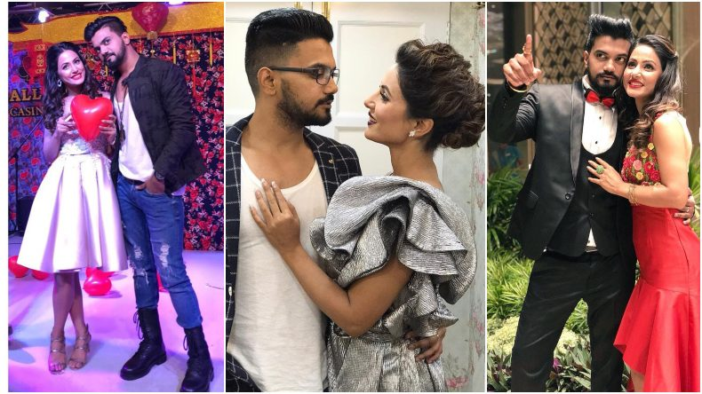 Hina Khan Rocky Jaiswal S Instagram Love Diary Will Make You Go Aww