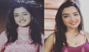 Amrapali Dubey takes up the 10-year challenge with this sexy photo!