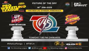 Pro Wrestling League Season 4 Day 5 Delhi Sultans vs UP Dangal Live Updates: Navjot Kaur vs Sakshi Malik the headline act of the night
