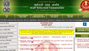 SSCStenographer Grade C and D Provisional Result 2019 declared