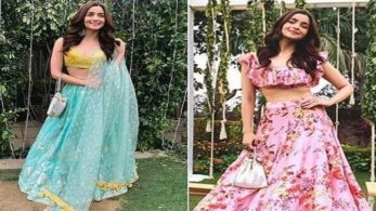 Alia Bhatt's bridesmaid look, Anita Dongre creation worth Rs 1.7lakhs,break from the daily workaholic life Alia sizzles in her BBF's wedding ceremony.