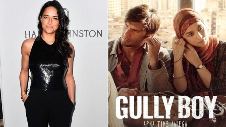 Ranveer Singh, Alia Bhatt, Gully Boy, Ranveer Singh Gully Boy movie, Fast and Furious movie actor reacts, Michelle Rodriguez reacts to gully boy, Ranveer Singh movies, Gully Boy trailer, Gully Boy release date,