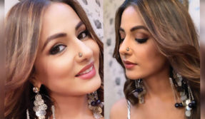 Hina Khan nails the traditional look in her latest Instagram post, see photos