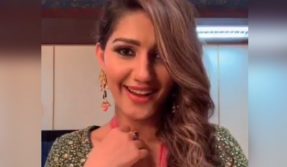 Sapna Choudhary's expressions on the song