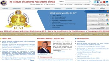 ICAI, Institute of Chartered Accountants of India results, ICAI IPC results 2019, ICAI official website, icai.nic.in, icai.org,