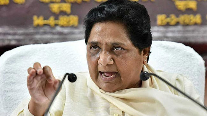 BSP chief Mayawati takes a dig at BJP, says ruling party desperate for alliances