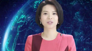 China, Artifical intelligence, Xinhua state, artificial intelligence robot, Xin Xiaomeng