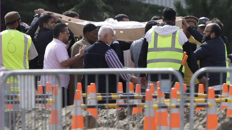 New Zealand mosque shooting: Burial of victims begin after five days in Christchurch