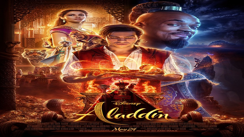 Aladdin trailer out disney 39 s fantasy fiction receives mixed response from tweeple as trailer - Aladdin 2019 poster ...