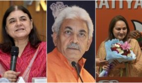 BJP releases 10th list for 2019 Lok Sabha elections, fields Maneka Gandhi from Sultanpur, Manoj Sinha from Ghazipur
