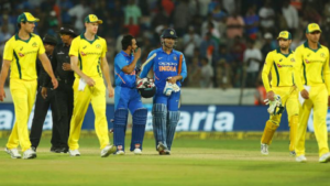 India vs Australia 3rd ODI: Visitors win by 32 runs, registers 1st victory in 5-match series, India lead 2-1