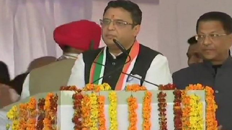 Lok Sabha election 2019: Former BJP chief minister BC Khanduri's son Manish Khanduri joins Congress
