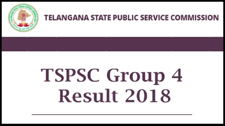 TSPSC Group-IV result declared, Step to check Telangana Public Service Commission result, tspsc.gov.in